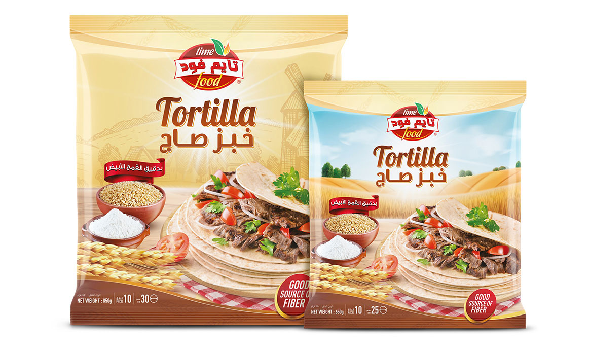 Package Design Service - Tortilla